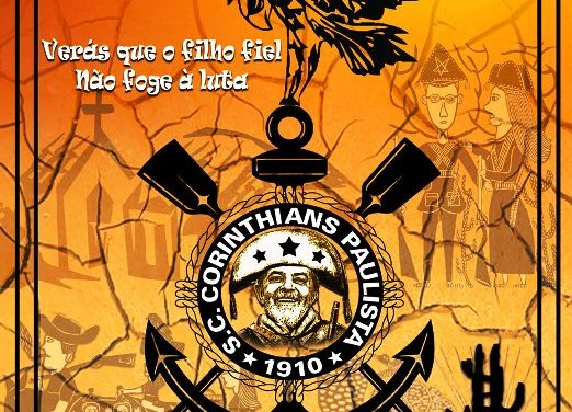 O ex-presidente Lula foi parar no escudo do Corinthians