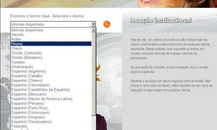 Endereço curioso: produtora faz vídeos em 55 idiomas