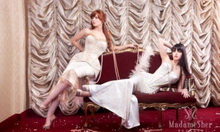 Estilista cria corsets inspirados em musas do cinema