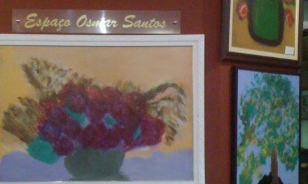 Osmar Santos expõe quadros em restaurante no Pari