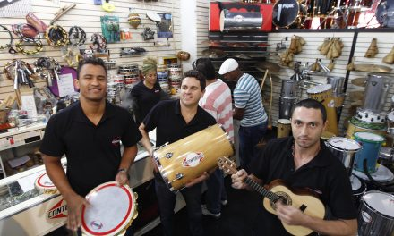 A Santa Ifigênia do Samba