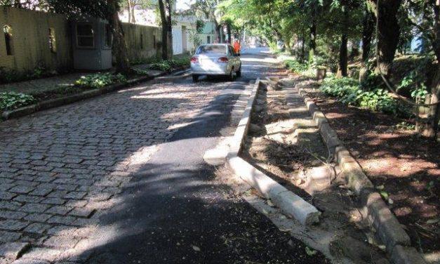 Obra na Avenida das Corujas irrita moradores da vizinhança