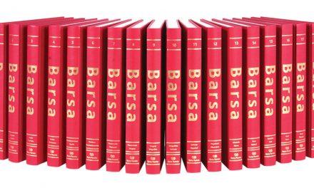 A Enciclopédia Barsa vai muito bem, obrigado!