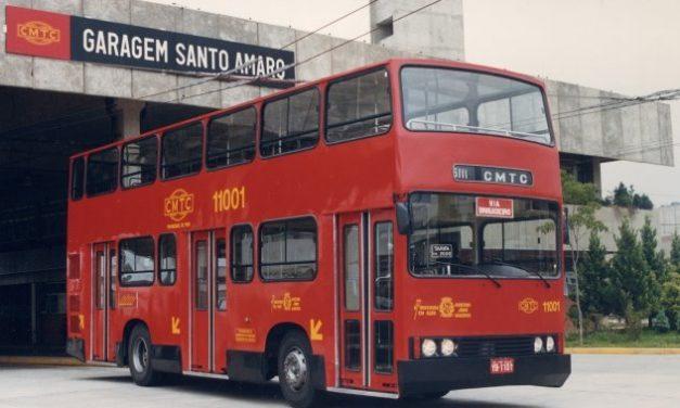 São Paulo já teve ônibus londrinos