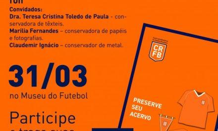 Museu do Futebol promove encontro de colecionadores
