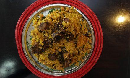 "A receita da ""paella palestina"" do restaurante Maramiah"
