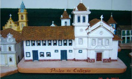 Miniaturas de prédios históricos de São Paulo