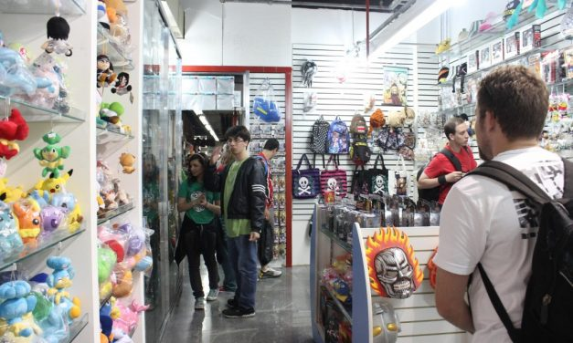 Galeria no bairro da Liberdade é o paraíso dos nerds
