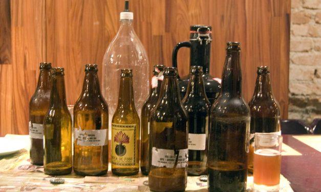 Uma noite regada a cervejas artesanais