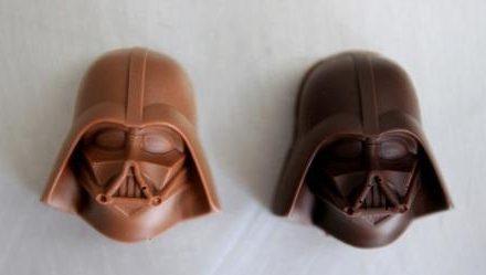 Chocolates Star Wars: aceita um Darth Vader ao leite?