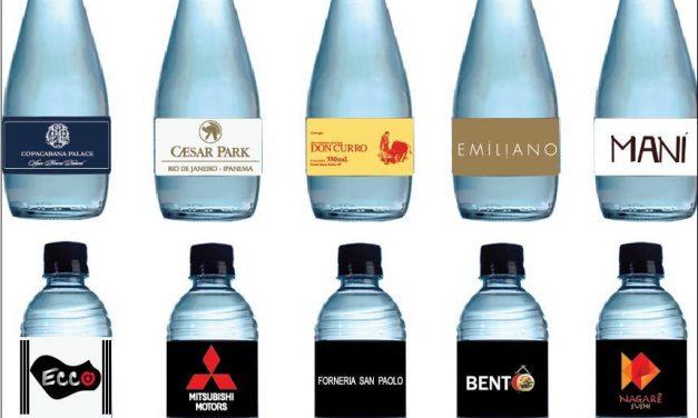 Restaurantes investem em águas personalizadas