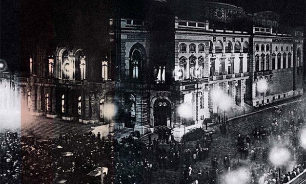 O primeiro engarrafamento de São Paulo
