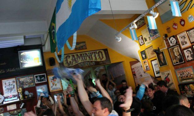 Bar na Mooca abriga ponto de encontro da torcida argentina