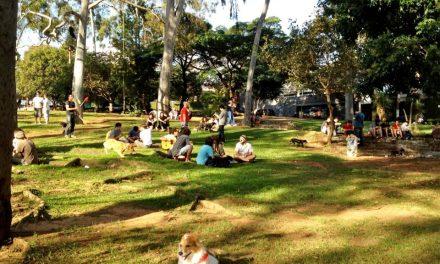 Praça em Pinheiros passa por reforma e terá projeto original, alterado pelo governo militar