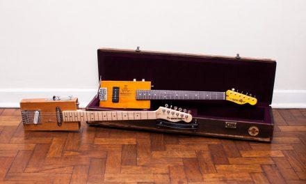 O jornalista que largou a carreira para fabricar guitarras com caixas de charuto