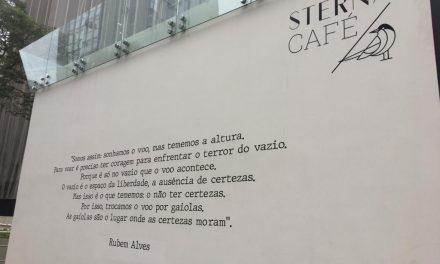 Rubem Alves x Dostoiévski: donos do café corrigiram o autor da citação